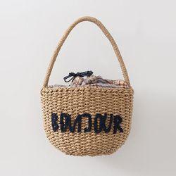Rattan Hello Basket Bag
