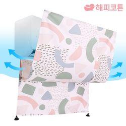 에어컨 바람막이 가리개커튼 패브릭포스터 멜로디