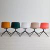 엘 체어 디자인 플라스틱 컬러 회전 인테리어의자