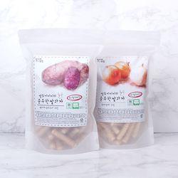 질마재농장 스틱 백미자색고구마70g+현미양파70g