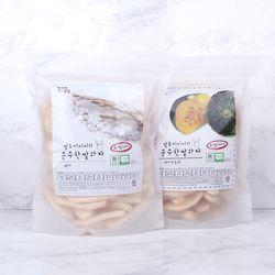 [주말할인] 질마재농장 떡 쌀과자 백미80g+백미단호박80g