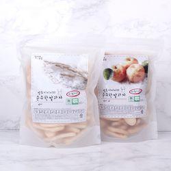 [주말할인] 질마재농장 떡 쌀과자 백미80g+백미배80g