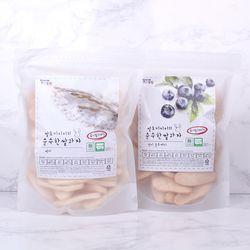 [주말할인] 질마재농장 떡 쌀과자 백미80g+현미블루베리80g