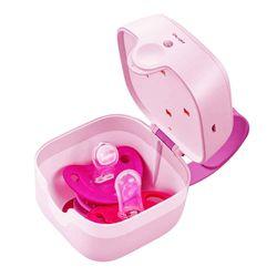 이젠육아도장비빨쪽쪽이살균기소독기휴대용보관케이스 S6 핑크