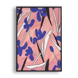붓꽃 패턴 (Pink)