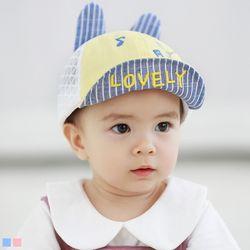 LOVELY 매쉬 아기 캡모자(48-50cm) 203905