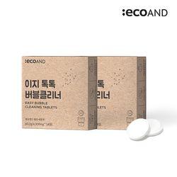 이지 톡톡 버블클리너 1종 세척제 2Box (28포)