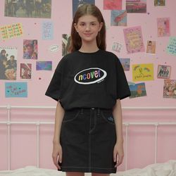 Rainbow logo tshirt-black