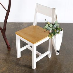 원목 등받이의자 식탁의자 책상의자 카페의자 간이의자