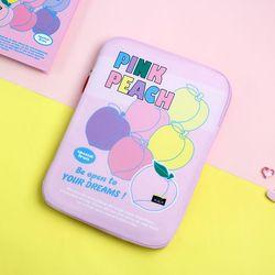 B 루카랩 후르츠 노트북파우치 15인치 - 02 Peach 피치