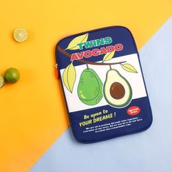 B 루카랩 후르츠 노트북파우치 15인치 - 03 Avocado 아보카도