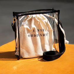 LVO Vinyl Bag (투명백)