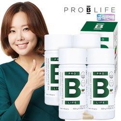 더 불가리쿠스 오리지널 프로바이오틱스 유산균 4병 (240캡슐)