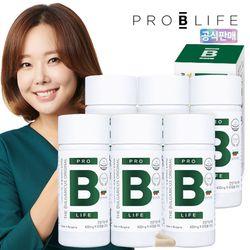 더 불가리쿠스 오리지널 프로바이오틱스 유산균 6병 (360캡슐)