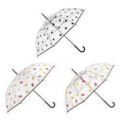 [LINE FRIENDS] 반투명  투명 자동 장우산