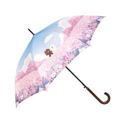 [LINE FRIENDS] DTP 자동 장우산  FLOWER