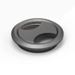 알루미늄 전선캡 - 블랙도장 54mm 전선 정리캡