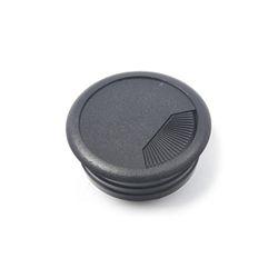 PVC 책상 전선캡 - 블랙 54mm 전선정리캡