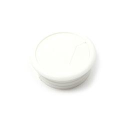 PVC 책상 전선캡 - 화이트 54mm 전선정리캡