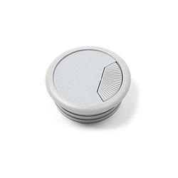 PVC 책상 전선캡 - 회색 54mm 전선정리캡