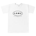 LAMC CIRCLE LOGO OVERFIT SHORT SLEEVE (WHITE)