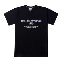 LAMC UNITED KINGDOM OVERFIT SHORT SLEEVE (BLACK)