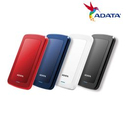 ADATA 외장하드 HV300 Ultra Slim 2TB