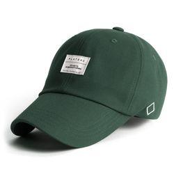 19 BASIC W LABEL CAP DEEP GREEN