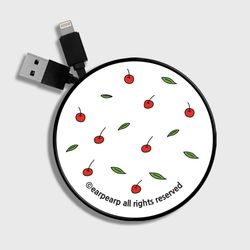 Leaf cherries-white(스마트릴)