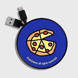 Delicious pizza-blue(스마트릴)