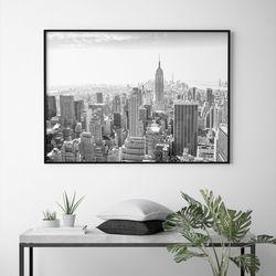 시티스케이프 뉴욕 액자 인테리어 A3 포스터