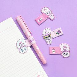 에스더버니 핑크 펜 홀더(랜덤발송)