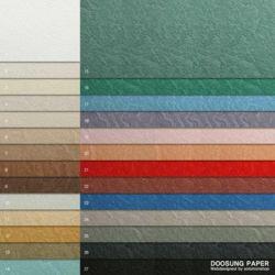 전지 돌무늬지 116g 무염소표백펄프를 사용한 친환경