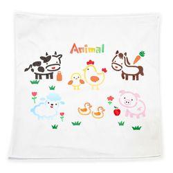 손수건 만들기 스텐실시트지-동물(3인세트)