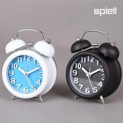 트윈벨 탁상시계 시끄러운알람시계(셀럽)