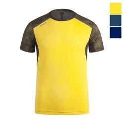 아베카 라운드 배색 반팔 티셔츠 STS014