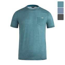 파라고나 넥포인트 라운드 반팔 티셔츠 STS019
