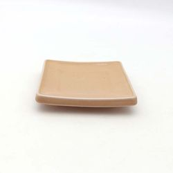 NEMO 달소금 모던 도자기그릇 유광 사각 타일접시-피치