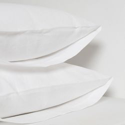 Basic Washing Linen Pillowcase 60X80