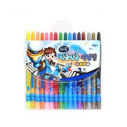 5000 빙글빙글 색연필 (16색남)