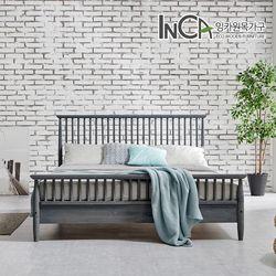 아르보아 북유럽 모던 소나무 원목 침대 퀸사이즈 3컬러