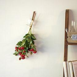 당신을 위한 특별한 선물 딥핑크 로즈 실크플라워 단품