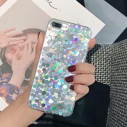 반짝반짝 홀로그램 다각케이스 (아이폰78플러스)