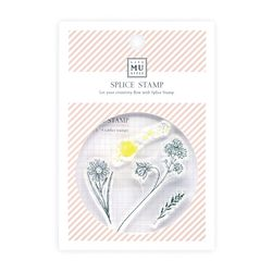 Miccudo 콜라주 클리어 스탬프 (4. Flower Rain Dew)