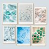 [A1 Print Only] 인테리어액자 아트프레임 Sea Glass 6종