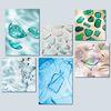 [200x200(mm)] 인테리어 캔버스액자 Sea Glass 6종