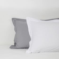 80s Washing Cotton Solid Pillowcase. 3 style. 60X80