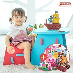 말랑폼 EVA책상세트 (2종택1) 유아책상-유아의자-공부상-돌선물