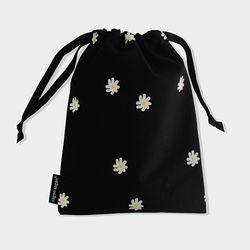 Mini flower string pouch m