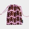 Teddy bear string pouch m